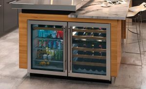 Sub-Zero Wine Cooler and Beverage Center